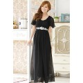 DIAMOND LONG DRESS J9200
