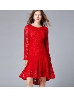 1-5290 FISHTAIL DRESS