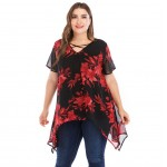 344-11 IRREGULAR BLOUSE
