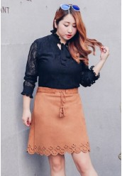 345-5511 SUEDE SKIRT