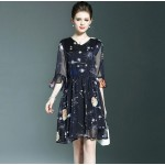 4226-0669 PRINTED DRESS